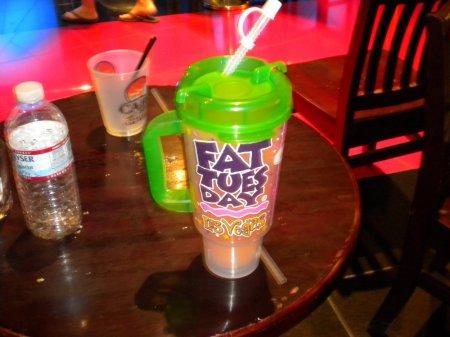fat tuesday mug