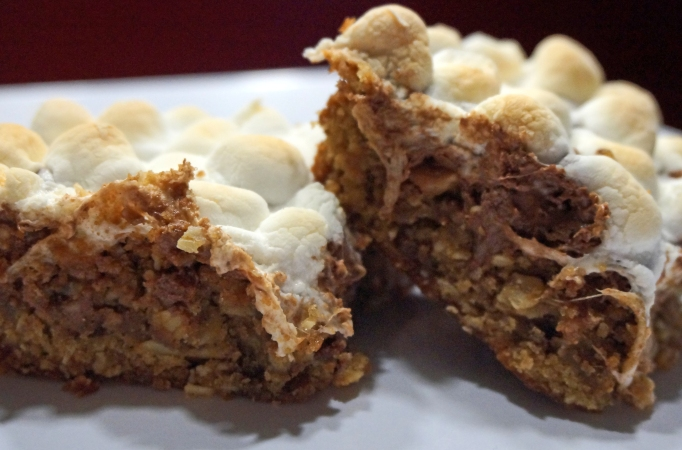 Oatmeal Toffee Bars